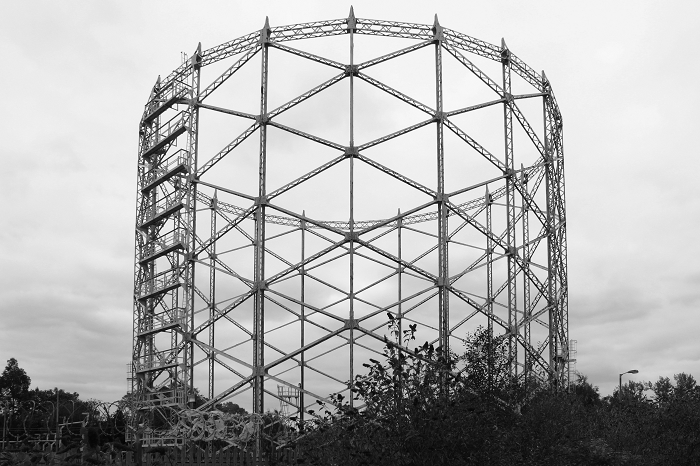London Hornsey gasholder