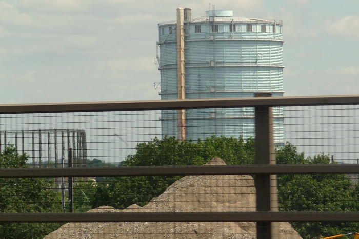 London Southall gasholder