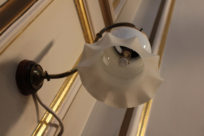 London Wigmor Hall Indoor gaslight
